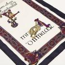 Book of Kells Long Navy Scarf