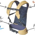 Patapum Toddler Carrier Khaki