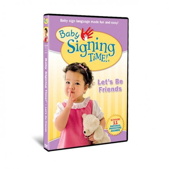 Baby Signing Time Vol. 4: Let's Be Friends - DVD