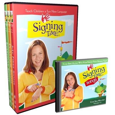 Signing Time Vol. 1-3 DVD Gift Set
