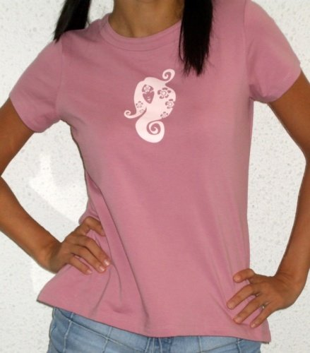 �Spring Nymph� tee (dusty pink)