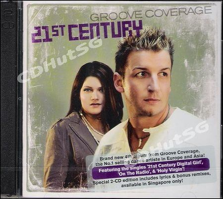 Groove Coverage 21st CENTURY Album + Mixes 2 CD EDT NEW