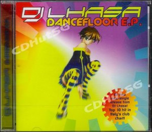 DJ Lhasa DANCEFLOOR EP Mixes CD Euro Techno Hot! SEALED