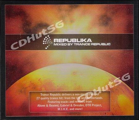 REPUBLIKA Mixed by Trance Republic 2 CD Markus Schulz