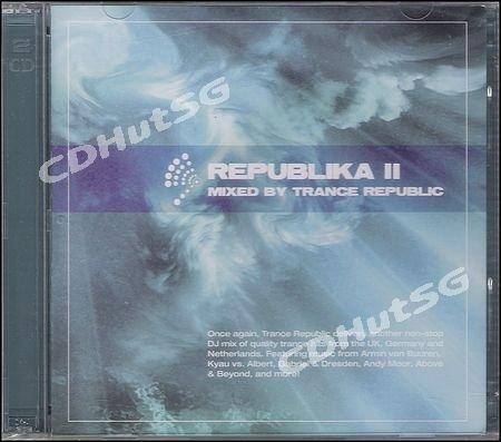 REPUBLIKA.2 Trance Republic Mixed 2 CD Above & Beyond