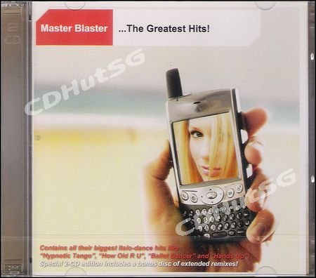 Master Blaster GREATEST HITS + Remixes 2 CD 2007 Hot!
