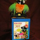 Talkling PISTOL THE PIRATE PARROT Funny & Rude!