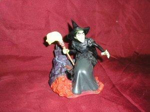 Wizard Of Oz WICKED WITCH Tabletop FIGURINE Kurt Adler