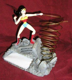 Monogram WONDER WOMAN Notepad Holder DC COMICS