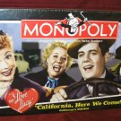 I Love Lucy MONOPOLY Boardgame LUCILLE BALL MIB