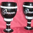 Gay Wedding GROOM/GROOM Same Sex TOASTING GOBLETS