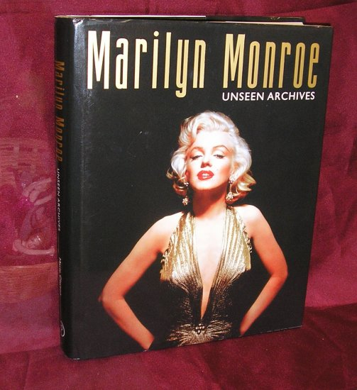 MARILYN MONROE Unseen Images BOOK by Marie Clayton