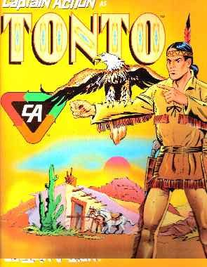 Playing Mantis  1998 CAPTAIN ACTION FIGURE AS TONTO