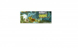 POLAR  LIGHTS MUMMY CHARIOT MODEL KIT