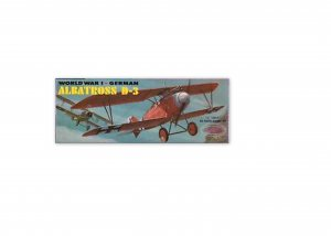 AURORA  WORLD WAR 1 GERMAN ALBATROSS D-3 MODEL KIT