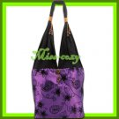 THAI SILK SHOULDER BAG HOBO PURPLE TOTE HIPPIE / B134