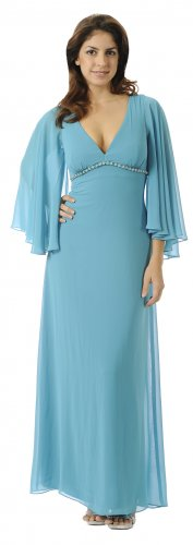 Cheap Turquoise Bridesmaid Dress Long Sleeve Plus Dress Turquoise | DiscountDressShop.com 2894PO