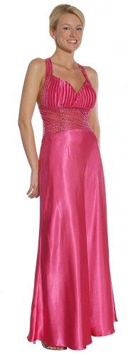 Elegant Fuchsia Pageant Dress Formal Dress Prom Fuchsia Homecoming | DiscountDressShop.com 1060JU