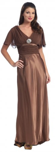 Cocoa Mother of the Bride/Groom Dress Cocoa Formal Evening Dress | DiscountDressShop.com 2012NX