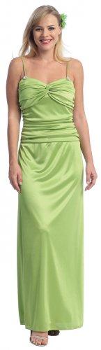 Elegant Sage Green Formal Evening Gown Sage Prom Gown Bridesmaid | DiscountDressShop.com 2065CE