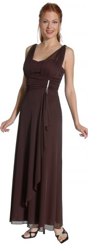 Discount Brown Dress Long Sweetheart Neckline Brown Formal Dress | DiscountDressShop.com 2094JU