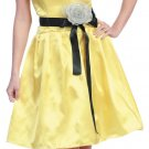 Discount Yellow Cocktail Dress Short Sweetheart Neckline Strapless | DiscountDressShop.com 616SB