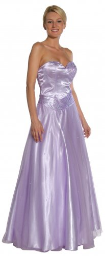 Lilac Ballroom Gown Sweetheart Neckline Pageant Lilac Prom Dress | DiscountDressShop.com 1048JU