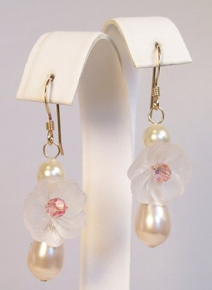 Flower Earrings - Gold Filled