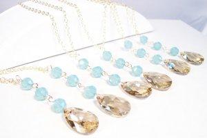 Pear Drop Necklace