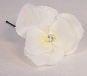 Hydrangea Crystal Flower Hairpin