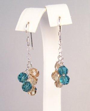 Crystal Droplets Earrings