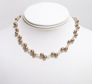 custom listing for amy - Illusion Bridesmaids Necklaces