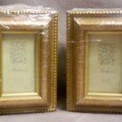 Set of 4, Gold glazed 2 x 3 Armherst Picture Frames,  Item # 04-0010010060006