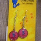 "Teens ""Chester, The Squirrel"" Dangle Earrings, Item # 08-001001060007"