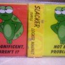 Set of 2 Locker Magnets,Slacker Turtle, Item #08-001001060010