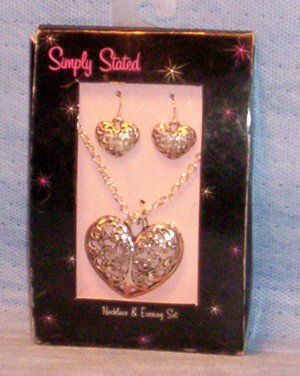 Simply Stated, Necklace & Earring Set, Item # 08-001001060014