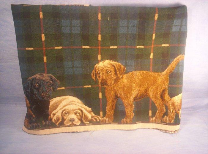 Beautiful Piece of Lab Puppy Fabric, Item # 02-001001060020
