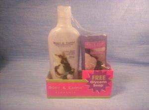 Body Elements, Cotton Bloom Body Lotion & Glycerin Soap, Item # 05-001014060027