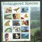 US #3105 32c ENDANGERED SPECIES Sheet of 15 stamps