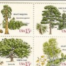 US #1764-67 American Trees MNH Blk of 4  .15
