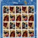 #3865-68 The Art of Disney: Friendship Sheet (Sealed)