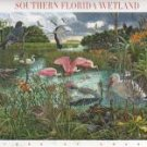 SOUTHERN FLORIDA WETLAND US SHEET 39c MINT STAMPS