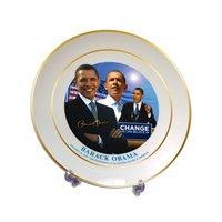 Barack Obama Collectors Plate w/Stand