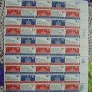 US MINT SHEET 1543-46 Bicentennial Era Stamps
