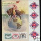 #3505 The Pan-American Inverts Full Pane Mint NH 2001