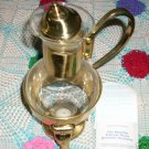 PRINCESS HOUSE VINTAGE BRASS COFFEE CARAFE RETIRED