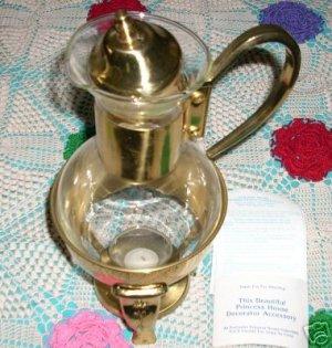 PRINCESS HOUSE VINTAGE BRASS COFFEE CARAFE RETIRED