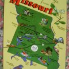 "Brand New ""MISSOURI"" map postcard - US"