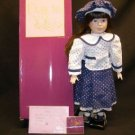 "Designs by Yoko ""Betty""  Porcelain Doll New"