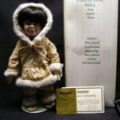 "Seymoor Mann's ""Chinook"" Eskimo  Porcelain Doll New"